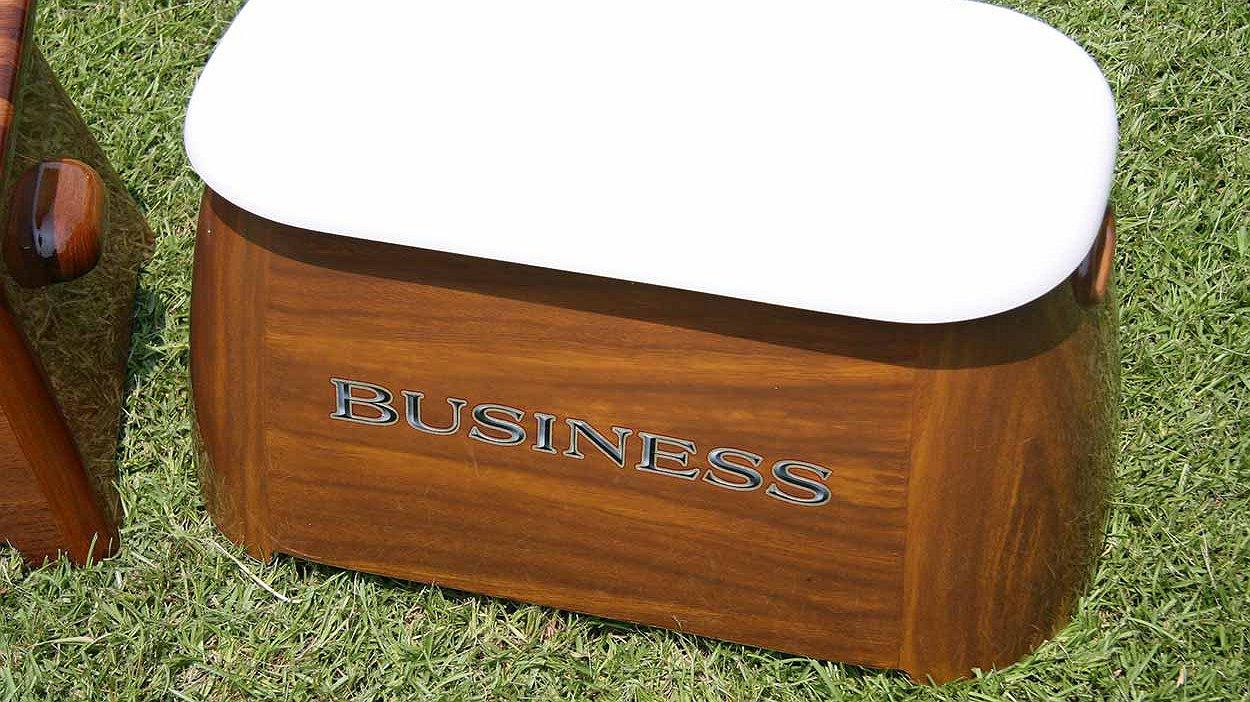 Business Faux Teak
