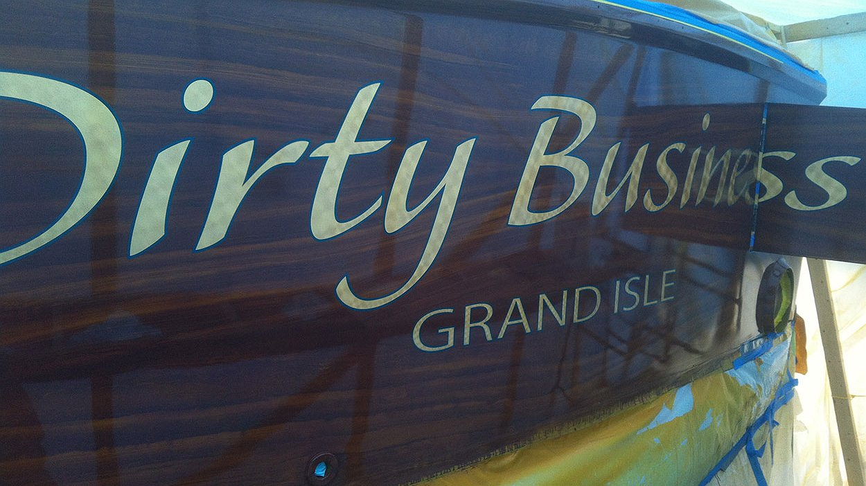 Dirty Business, Grand Isle Faux Teak