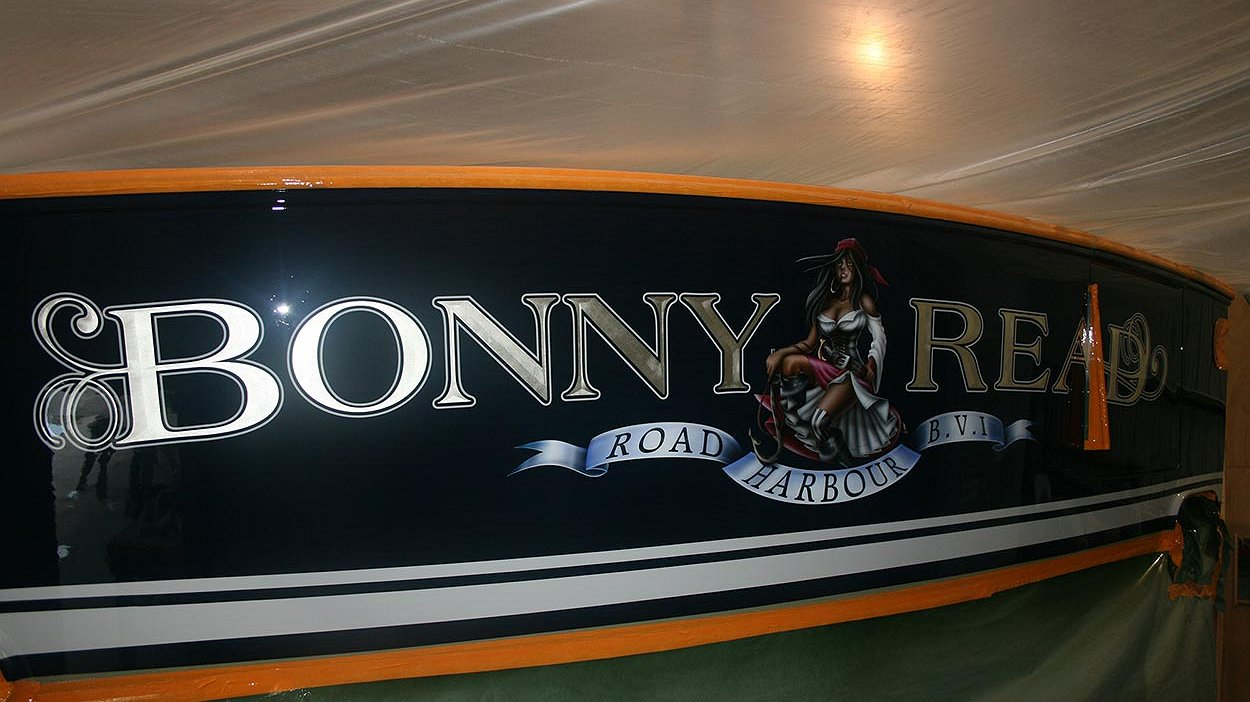 Bonny read road harbour british virgin islands b v i for Custom transom