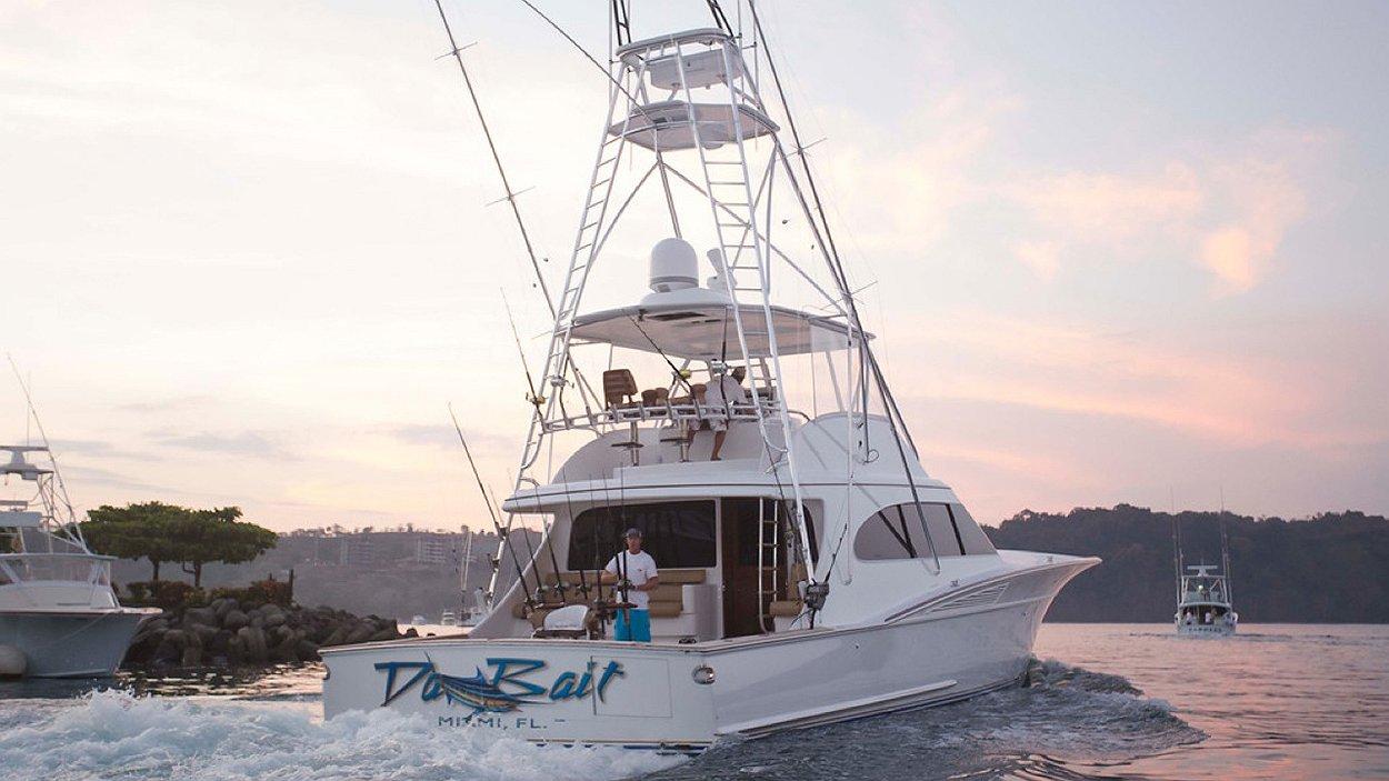Da Bait, Miami Florida Boat Transom
