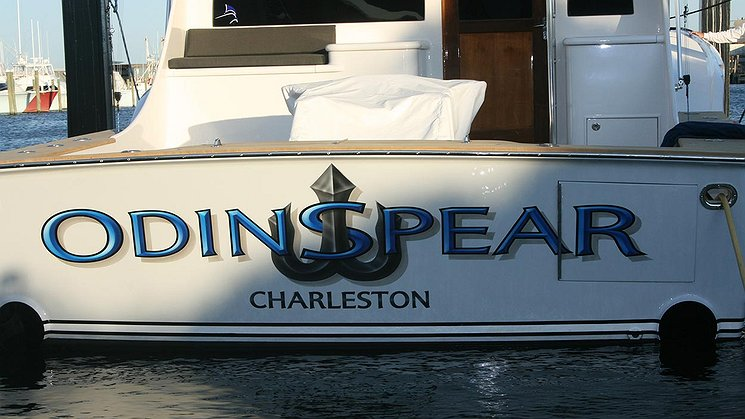 Odin Spear, Charleston Boat Transom