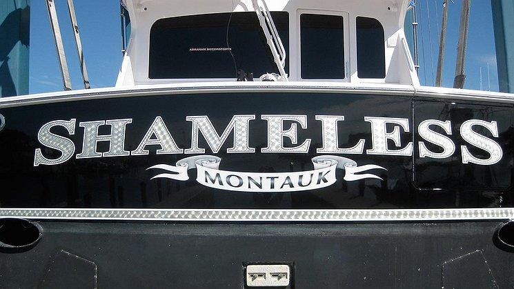 Shameless, Montauk Boat Transom