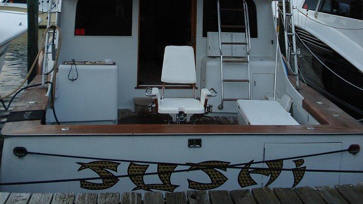 Sushi Boat Transom