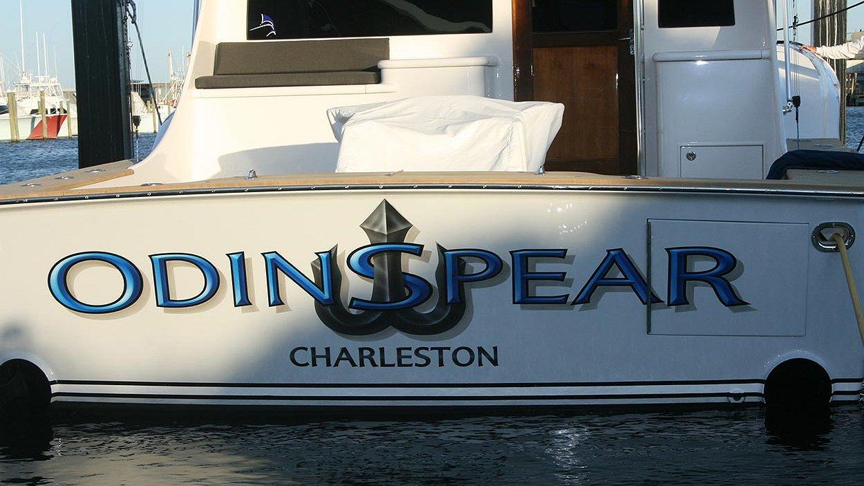 Odin Spear, Charleston Boat Transom