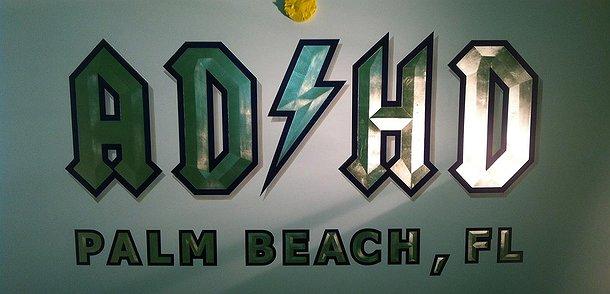 ADHD, Palm Beach Florida Boat Transom