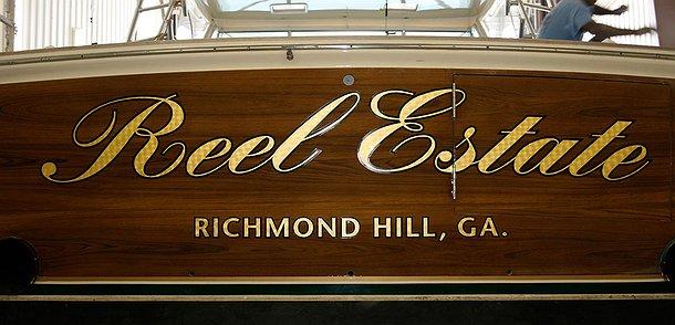 Reel Estate, Richmond Hill Georgia Boat Transom